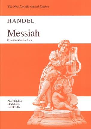 Messie HAENDEL Partition Chœur - laflutedepan