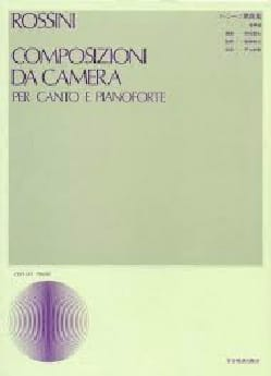 15 Composizioni Da Camera ROSSINI Partition Mélodies - laflutedepan