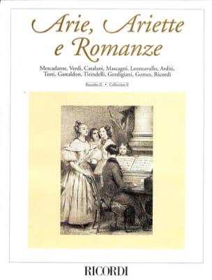 Arie, Ariette et Romanze Volume 2 Partition Mélodies - laflutedepan