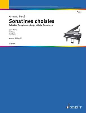 Sonatines Classiques Vol 3 Armand Ferté Partition Piano - laflutedepan