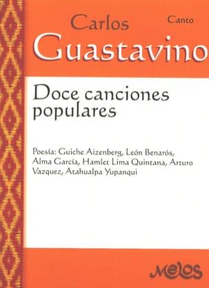 Doce canciones populares Carlos Guastavino Partition laflutedepan
