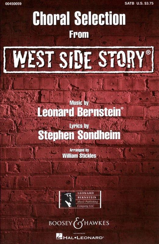 West Side Story Choral Sélection - BERNSTEIN - laflutedepan.com