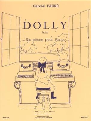 Dolly Opus 56. Piano FAURÉ Partition Piano - laflutedepan