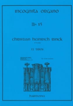12 Trios Johann Christian Heinrich Rinck Partition laflutedepan