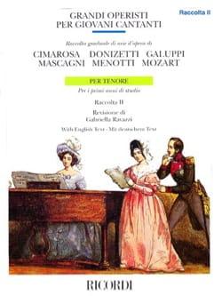 Grandi Operisti Per Giovani Cantanti. Ténor Volume 2 laflutedepan