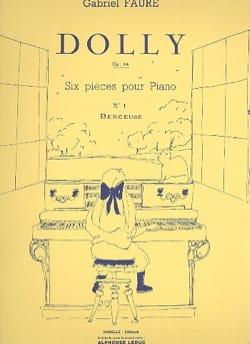 Dolly Opus 56-1 : Berceuse FAURÉ Partition Piano - laflutedepan