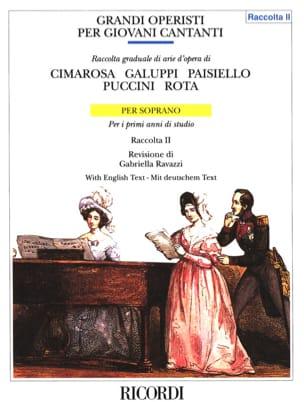 Grandi Operisti Per Giovani Cantanti. Soprano Volume 2. laflutedepan