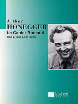 Cahier Romand HONEGGER Partition Piano - laflutedepan