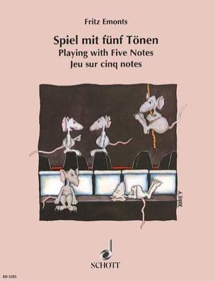 Spiel mit 5 Tönen Fritz Emonts Partition Piano - laflutedepan