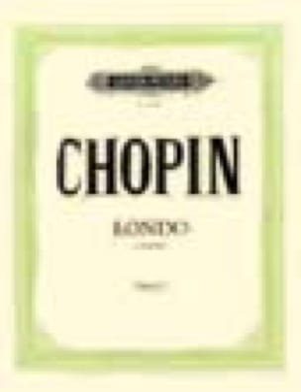 Rondo Opus 73. 2 Pianos - CHOPIN - Partition - laflutedepan.com