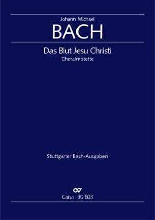 Das Blut Jesu Christi Johann Michael Bach Partition laflutedepan