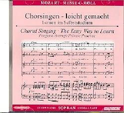 Grande Messe En Ut Mineur K 427. CD Soprano. MOZART laflutedepan