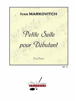 Petite Suite Pour Débutant - Ivan Markovitch - laflutedepan.com