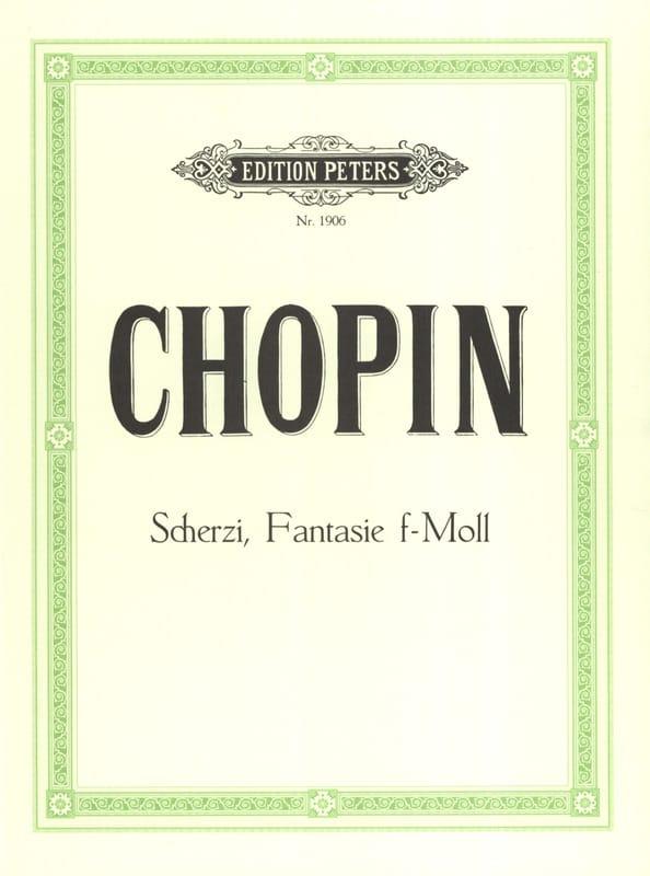 Scherzos et Fantaisie En Fa Mineur - CHOPIN - laflutedepan.com