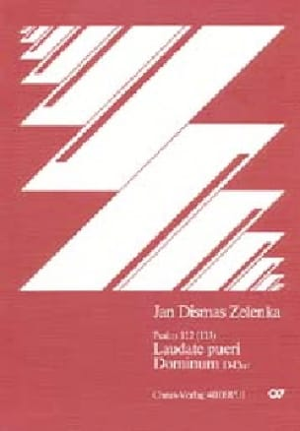 Laudate Pueri Dominum In D. Conducteur - ZELENKA - laflutedepan.com