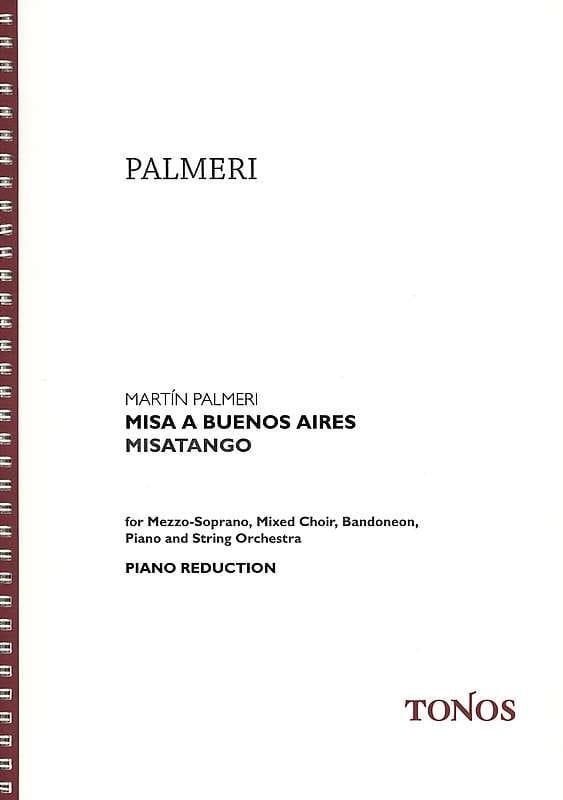 Misa a Buenos Aires - Martin Palmeri - Partition - laflutedepan.com