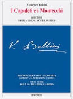 I Capuleti E I Montecchi. Edition Critique BELLINI laflutedepan