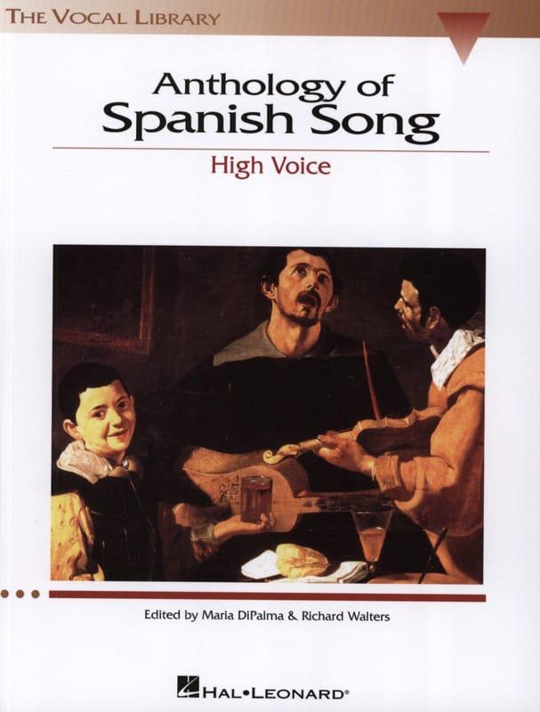 Anthology Of Spanish Song. Voix Haute - laflutedepan.com