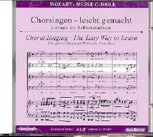 Grande Messe En Ut Mineur K 427. CD Alto. - MOZART - laflutedepan.com