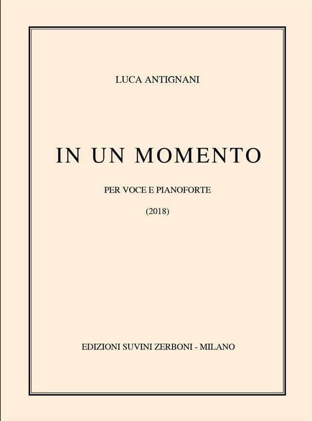 In un Momento - Luca Antignani - Partition - laflutedepan.com