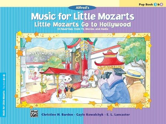 Music For Little Mozarts - Pop Book 3 & 4 - MOZART - laflutedepan.com