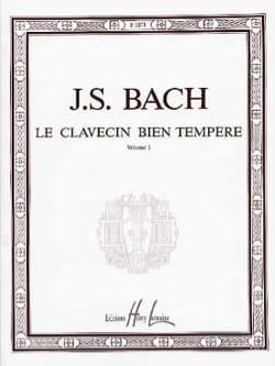 Le Clavecin Bien Tempéré, Volume 1 BACH Partition Piano - laflutedepan