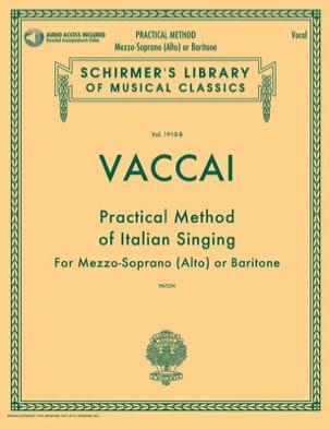 Practical Method of Italian Singing. Voix moyenne laflutedepan