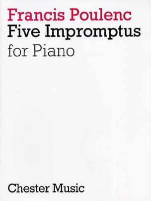 5 Impromptus - POULENC - Partition - Piano - laflutedepan.com