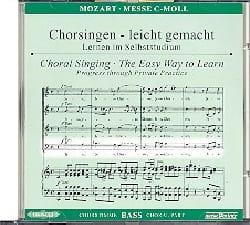 Grande Messe En Ut Mineur K 427. CD Basse. MOZART laflutedepan