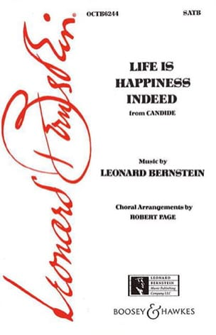 Leonard Bernstein - Life is happiness indeed. Candid - Partition - di-arezzo.co.uk