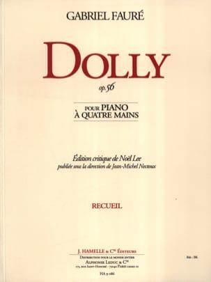 Dolly Opus 56. 4 Mains FAURÉ Partition Piano - laflutedepan