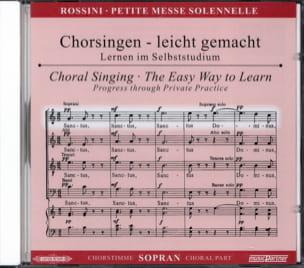 Petite Messe Solennelle. CD Soprano ROSSINI Partition laflutedepan