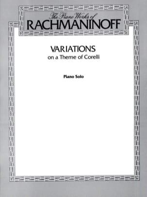 Variations sur un Thème De Corelli. Opus 42 RACHMANINOV laflutedepan