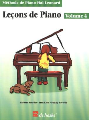Leçons de Piano Volume 4 Kreader / Kern Jerome / Keveren laflutedepan