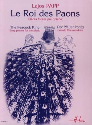 Le Roi des Paons Lajos Papp Partition Piano - laflutedepan