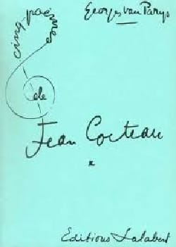 5 Poèmes de Jean Cocteau Georges van Parys Partition laflutedepan