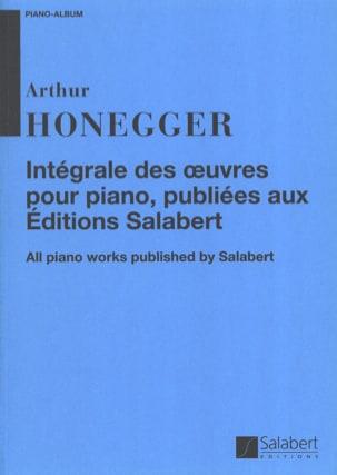 Intégrale des Oeuvres pour Piano, publiées aux éditions Salabert laflutedepan