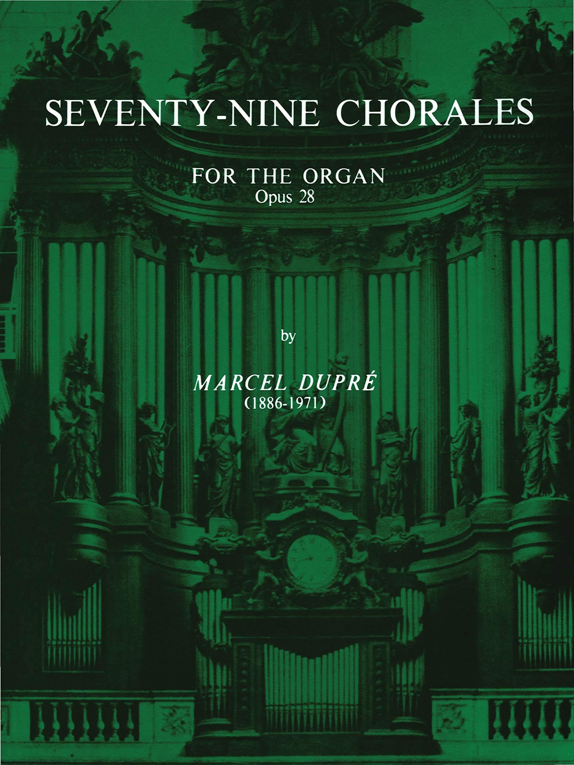 79 Chorals Opus 28 - DUPRÉ - Partition - Orgue - laflutedepan.be