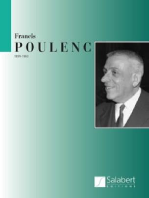 Aubade - Partie Piano - POULENC - Partition - Piano - laflutedepan.com