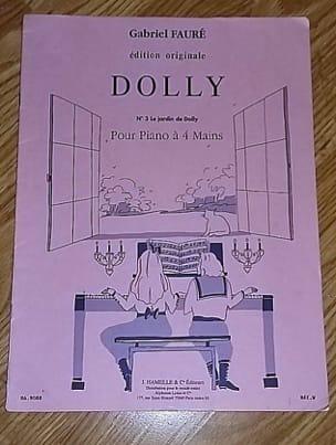 Le Jardin de Dolly FAURÉ Partition Piano - laflutedepan