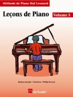 Leçons de Piano Volume 5 Kreader / Kern Jerome / Keveren laflutedepan