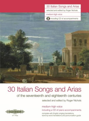 30 Italienische Lieder Und Arien des 17. Und 18. Jahrhunderts. Voix Haute laflutedepan