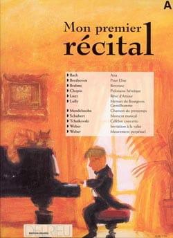 Mon Premier Récital Volume A Partition Piano - laflutedepan