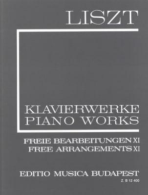 Free Arrangements, Série 2 Volume 11 LISZT Partition laflutedepan