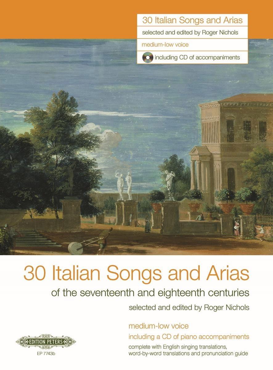 30 Italienische Lieder Und Arien des 17. Und 18. Jahrhunderts. Voix Grave - laflutedepan.com