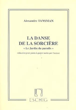 Alexandre Tansman - Danza bruja 4 manos - Partition - di-arezzo.es