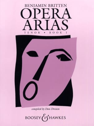 Opera Arias Ténor Volume 1 BRITTEN Partition Opéras - laflutedepan