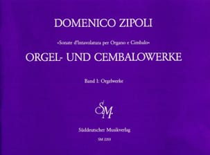 Orgelwerke Volume 1 Domenico Zipoli Partition Orgue - laflutedepan