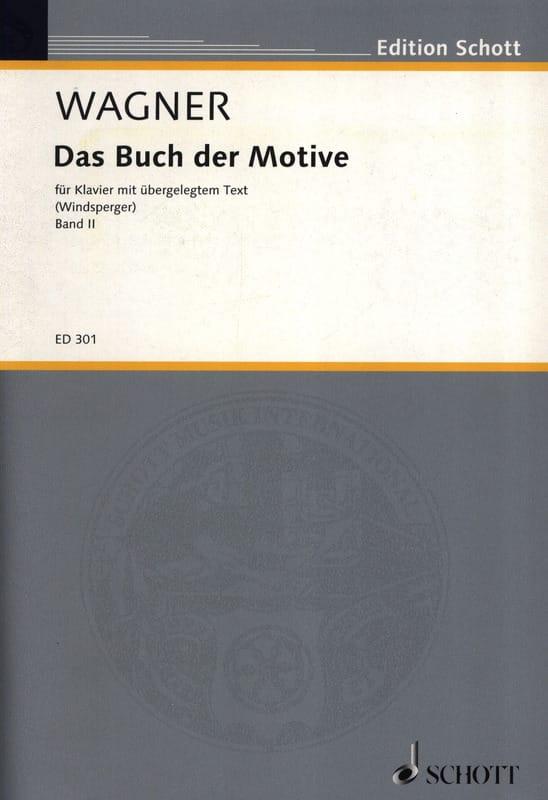 Das Buch Der Motive, Bd 2 - WAGNER - Partition - laflutedepan.com