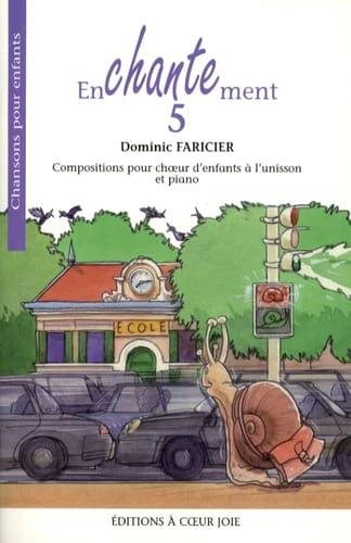 Enchantement 5 - Dominic Faricier - Partition - laflutedepan.com